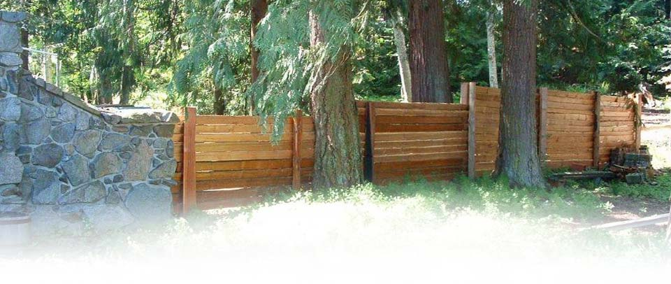 Split Cedar Picket & Board Fences